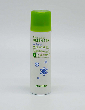 Охлаждающий тоник Tony Moly The Chok Chok Green Tea Ice Toner